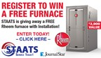 STAATS Services Furnace Giveaway