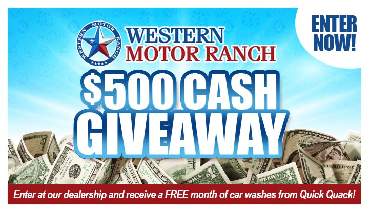 500 Cash Giveaway - Contests and Promotions - Amarillo Globe