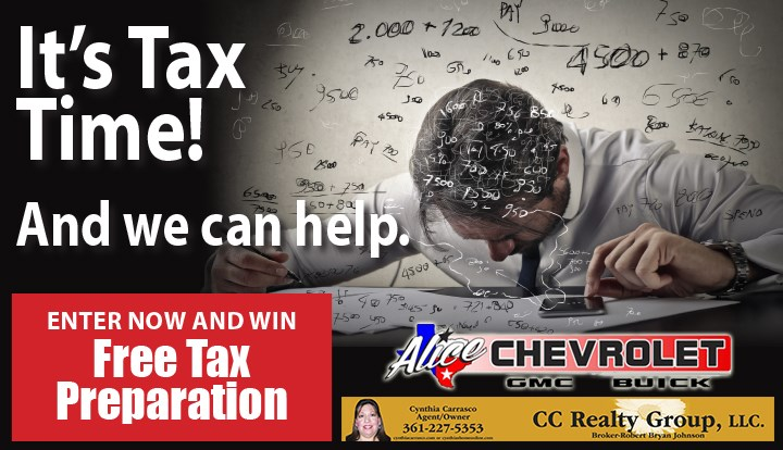 Tax Prep Sweepstakes - Contests and Promotions - Alice Echo News