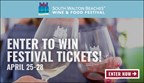 South Walton Beaches Wine & Food Festival Sweepstakes 2019