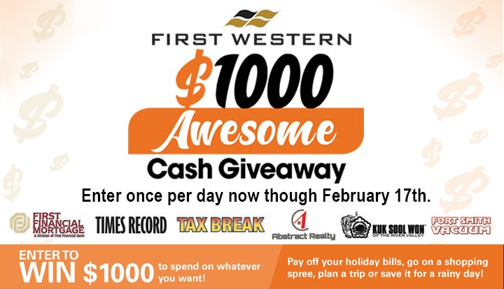 $1000 Cash Giveaway - Contests and Promotions - Times Record - Fort