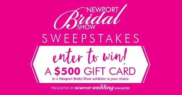 newport sweepstakes newport bridal show sweepstakes contests and promotions 385