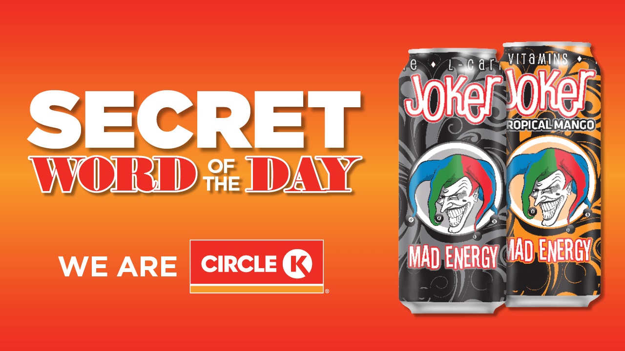 Circle K Secret Word of the Day