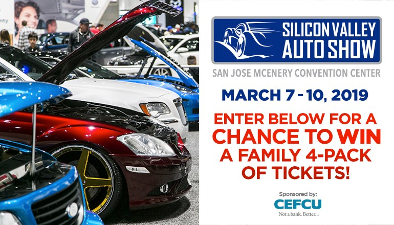 Silicon Valley Auto Show Future Of Drive Ticket Giveaway Contest