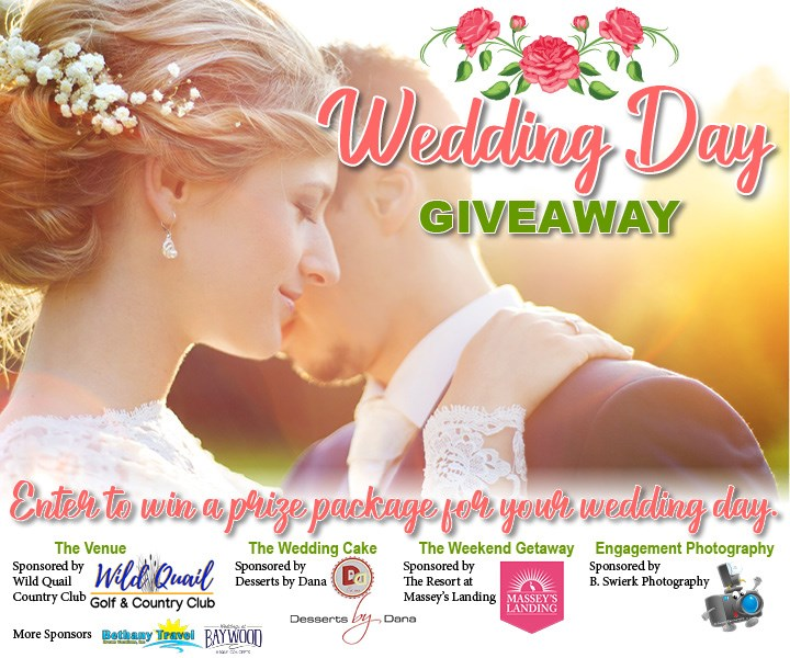 Wedding Day Giveaway - Contests and Promotions - Dover Post
