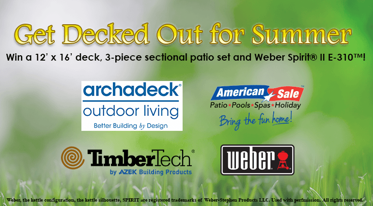 ada5449145c02a Upload a photo of your backyard in need of a deck makeover for the chance  to win!