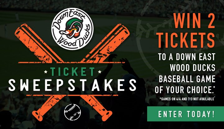 Down East Wood Ducks Ticket Sweepstakes - Contests and