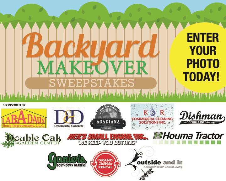 Backyard Makeover Sweepstakes Contests And Promotions Houma