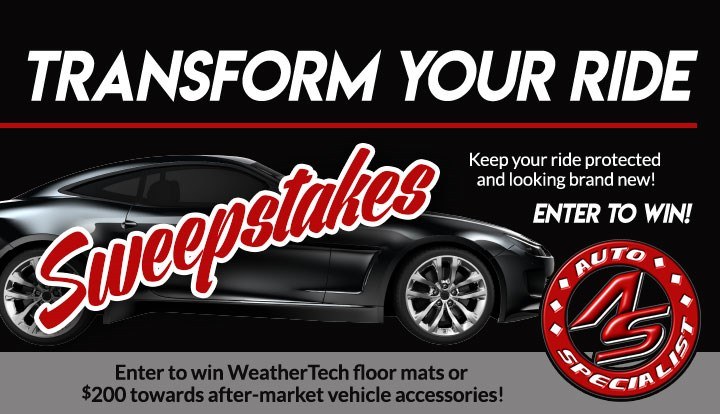 Transform Your Ride May 2019 - Contests and Promotions - Uticaod