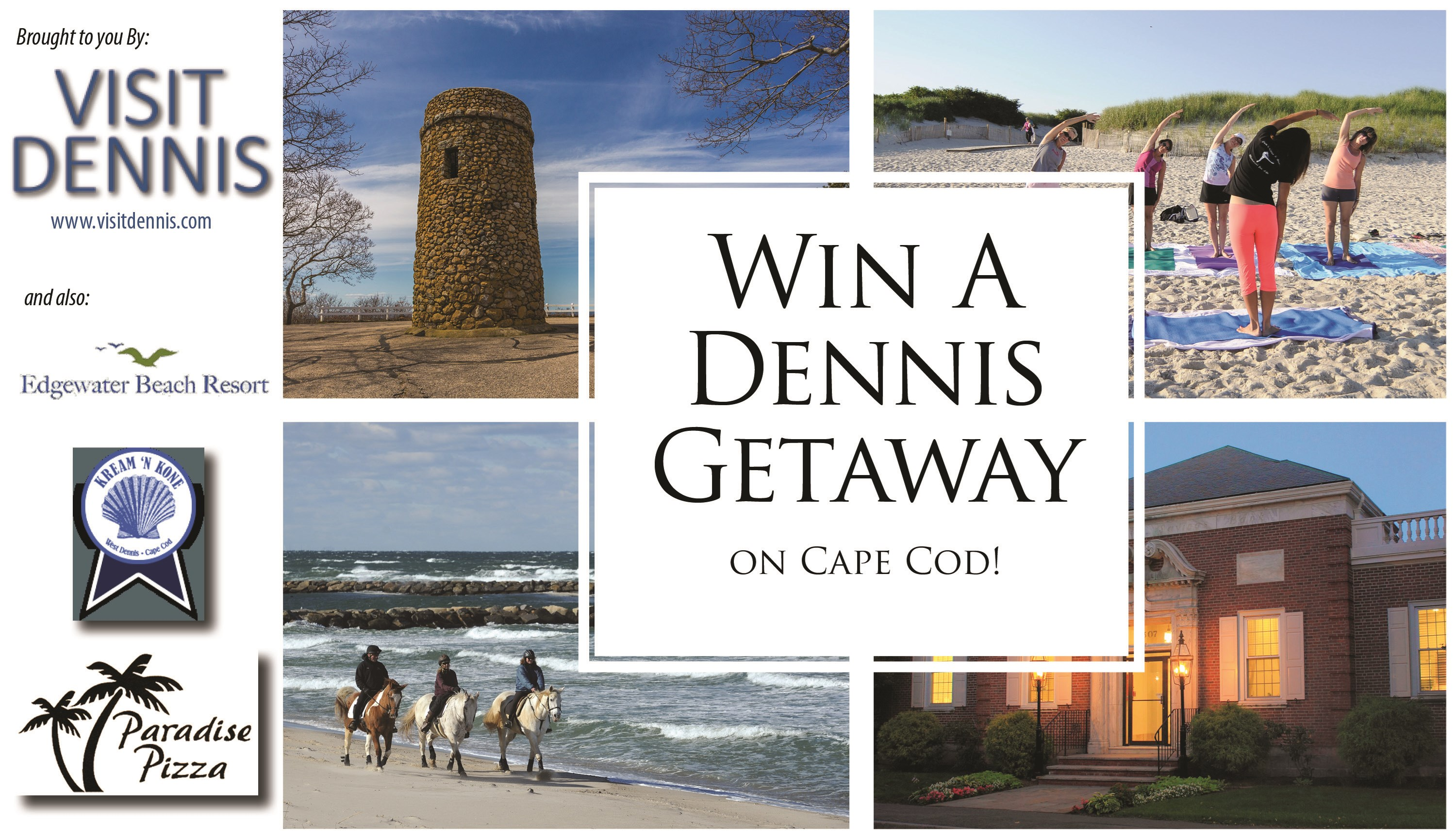 Dennis Getaway On Cape Cod Sweepstakes - Contests and