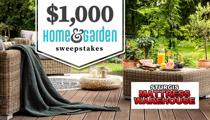 Home And Garden Sweepstakes Sturgis Mattress - Contests and