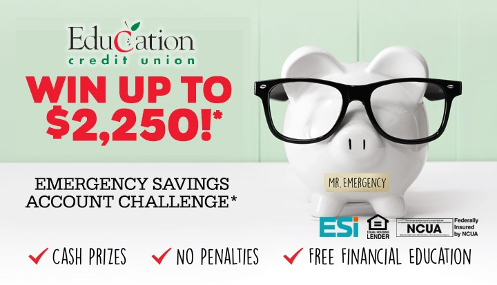 Emergency Savings Account Challenge - Contests and