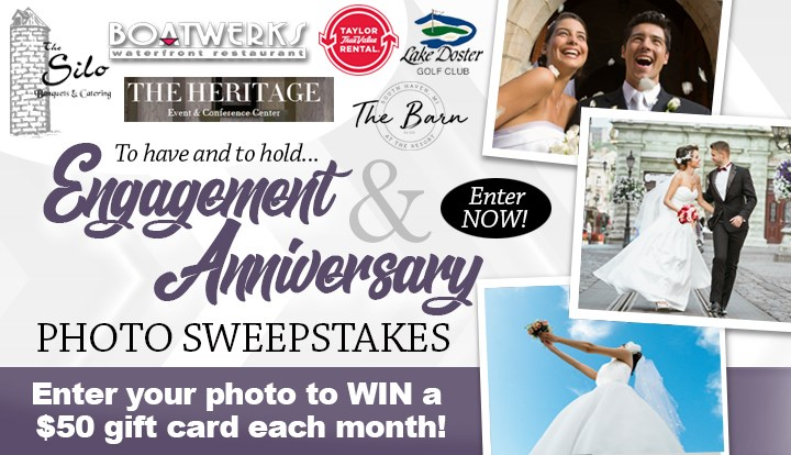 Engagement And Wedding Anniversary Photo Sweepstakes