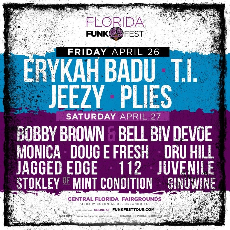 Funk Fest Orlando 2019 Ticket Giveaway