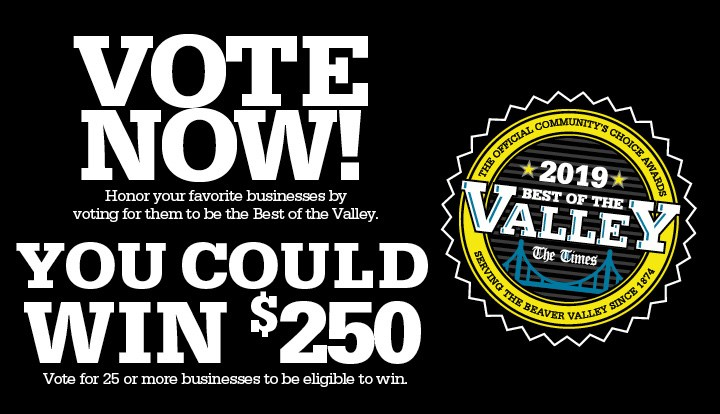 Best Of The Valley 2019 Best Of The Valley   Contests and Promotions   The Times   Beaver, PA