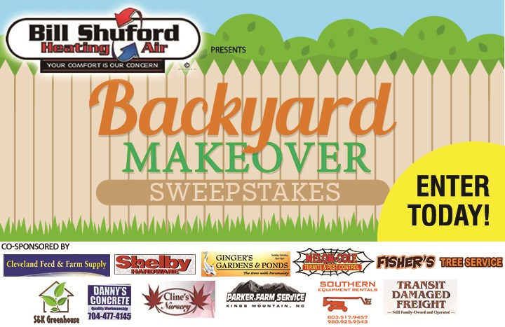 Backyard Makeover Sweepstakes Contests And Promotions Shelby