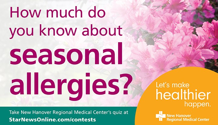 How Much Do You Know About Seasonal Allergies - Contests and