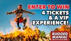 Rugged Maniac Sweepstakes
