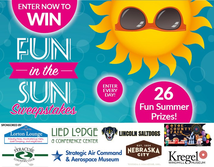 Summer Fun Sweepstakes - Contests and Promotions - Nebraska City
