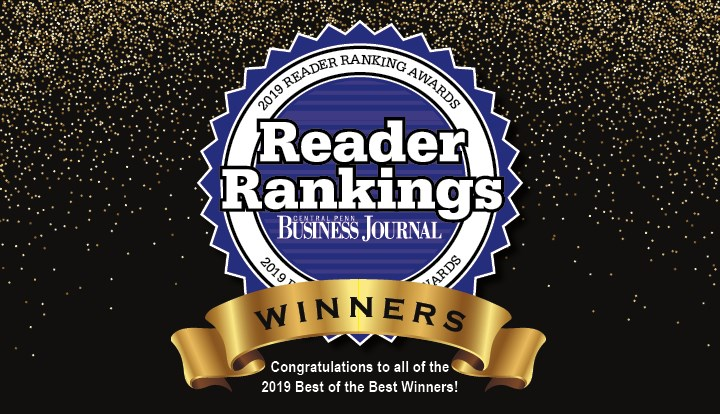 2019 Central Penn Business Journal Reader Rankings Finalists