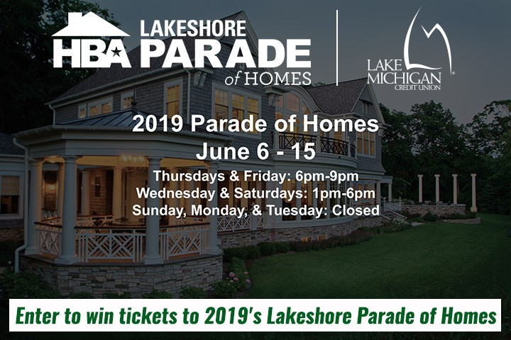 Lakeshore Parade Of Homes Ticket Giveaway - Contests and Promotions