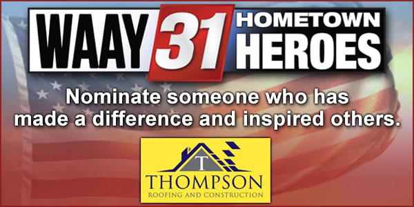 Hometown Heroes - Huntsville News, Weather, Sports
