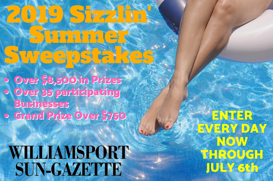 2019 Sizzlin' Summer Sweepstakes