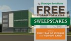 Free Storage for a Year Sweepstakes