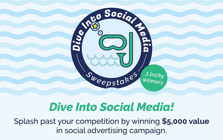 Dive Into Social Media Sweepstakes