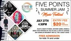 Five Points Washington Summer Jam Ticket Giveaway