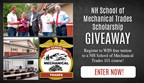 NH School of Mechanical Trades Scholarship Giveaway