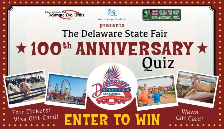 State Fair 100 Anniversary Quiz - Contests and Promotions