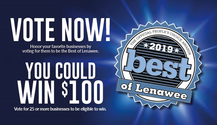 Vote for Us in Best of Lenawee!