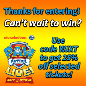 PAW Patrol Live! 2019 Sweepstakes