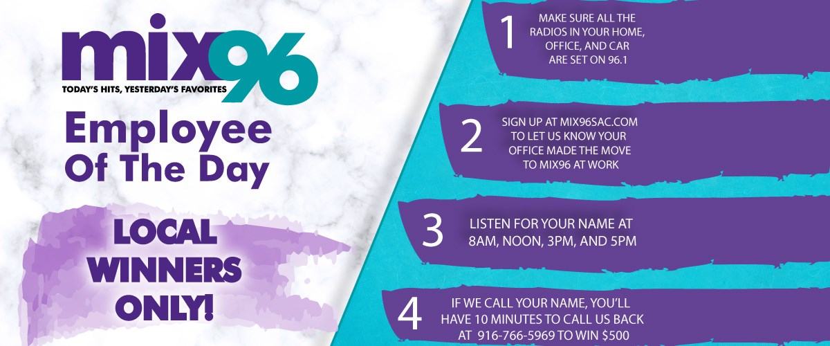 How Would You Like To Win $500?! - Mix 96