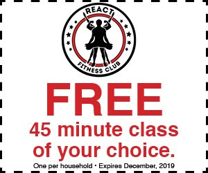 React Fitness Club Multi Pass Giveaway - Contests and Promotions
