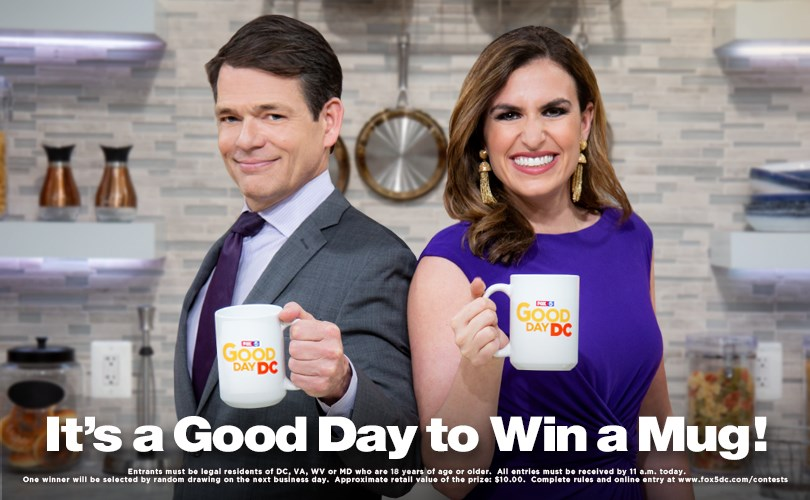 Good Day DC Mug Giveaway | FOX 5 DC