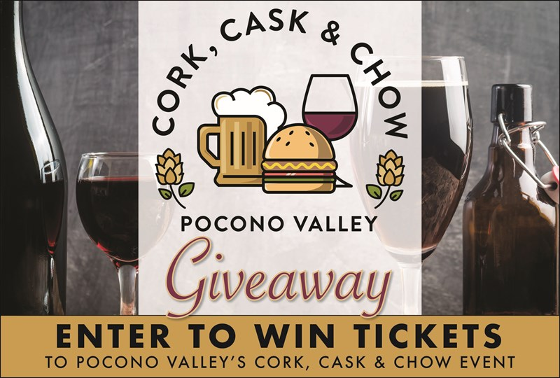 Pocono Valley's Cork, Cask & Chow Giveaway