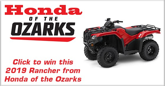 Honda Of The Ozarks >> Honda Of The Ozarks Atv Giveaway Kolr Ozarksfirst Com