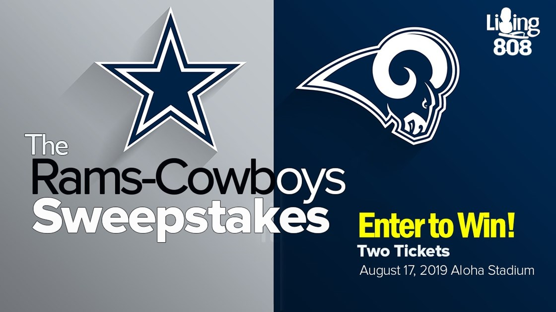 The Living808 Rams-Cowboys Sweepstakes