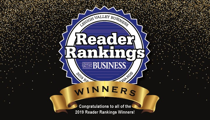 2019 Lehigh Valley Business Reader Rankings Finalists