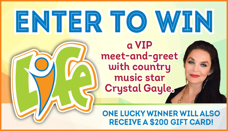 VIP Meet and Greet Crystal Gayle Sweepstakes