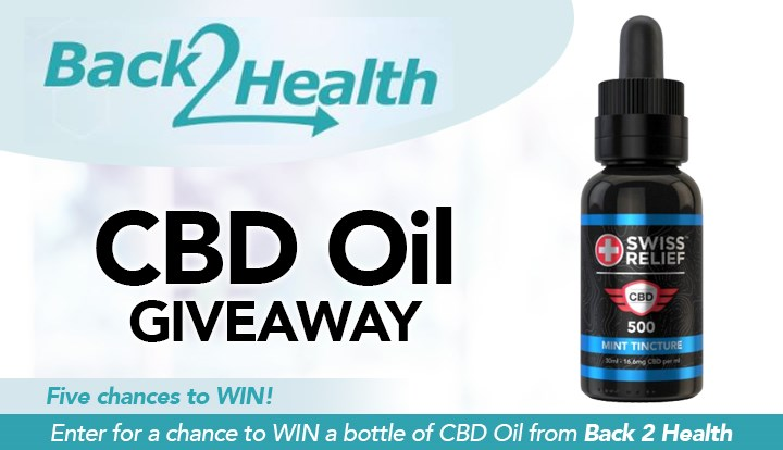 Back 2 Health's CBD Oil Giveaway