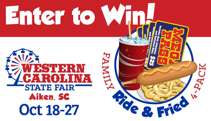 Western Carolina State Fair's Ride & Fried Giveaway