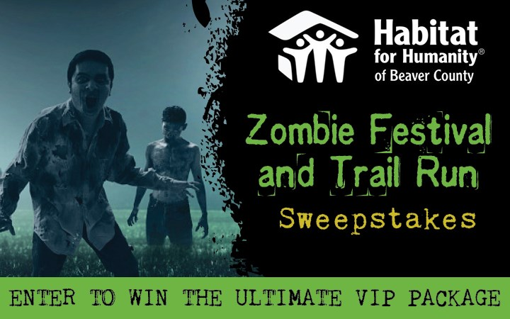 Zombie Festival and Trail Run Sweepstakes
