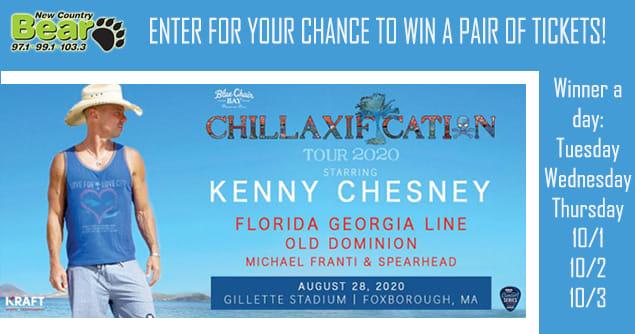kenny chesney stadium tour 2020