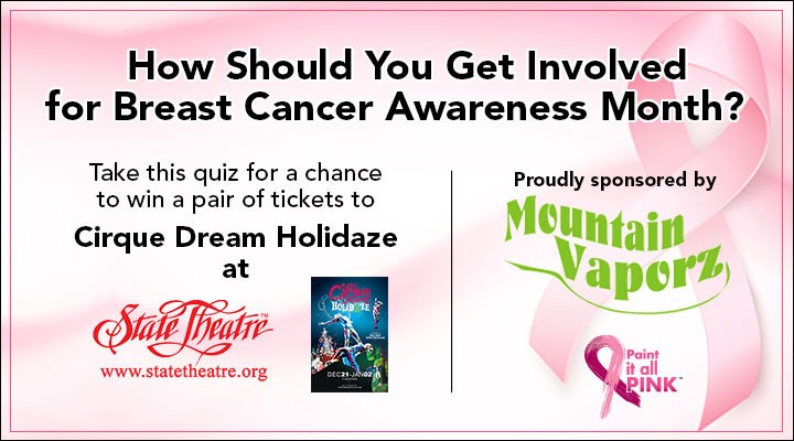 Mountain Vaporz How Should You Get Involved For Breast Cancer Awareness Month Quiz