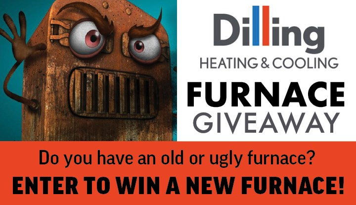 Dilling Heating & Cooling Furnace Giveaway