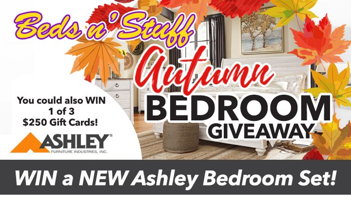 Beds N Stuff Fall Bedroom Giveaway