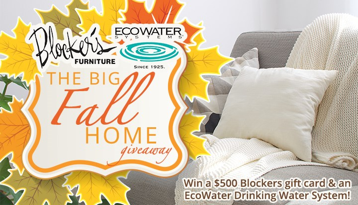 The BIG Fall Home Giveaway